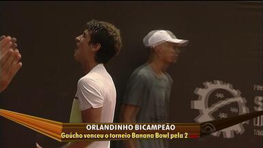 Orlandinho vence Banana Bowl - Gaúcho é o primeiro bicampeão do torneio.