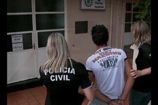 Suspeito por tentativa de homicídio é preso em Caxias do Sul, RS - O crime ocorreu durante uma briga em um jogo de futebol em Pejuçara, RS.