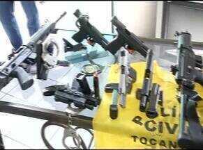 Em Gurupi cerca de 100 agentes da Polícia Civil entregaram as armas - Em Gurupi cerca de 100 agentes da Polícia Civil entregaram as armas
