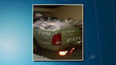 Polícia apreende mais de meia tonelada de drogas no Cariri - Três pessoas foram presas.