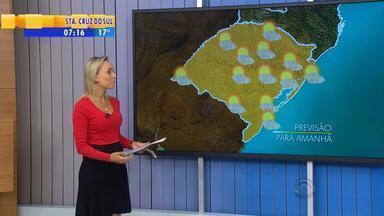 Tempo: quinta-feira (19) deve seguir com sol e calor em todo RS - Chuvas devem retornar ao estado a partir de sexta-feira (20).