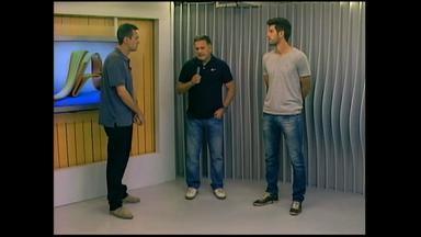 Ben-Hur e Teco concedem entrevista ao vivo no JA de Rio Grande, RS - São Paulo-RS tem contra o Ypiranga partida decisiva pelo Gauchão.