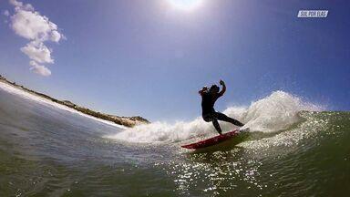 Surfe Na Praia Deserta