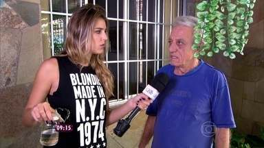 Rafa Brites conversa com moradores de São Paulo que estão preocupados com os escorpiões - Conheça os principais sintomas de envenenamento por picadas de escorpiões