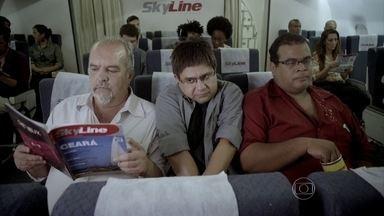 'Amores Turbulentos': A nova novela das nove - A primeira trama que se passa toda em um voo de avião