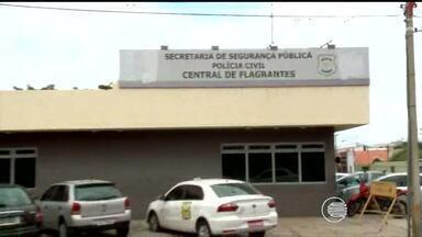 Número de presos na Central de Flagrantes de Teresina representa grande risco de fuga - Número de presos na Central de Flagrantes de Teresina representa grande risco de fuga