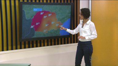 Confira a previsão do tempo - Esta segunda-feira vai ser de bastante chuva na capital.