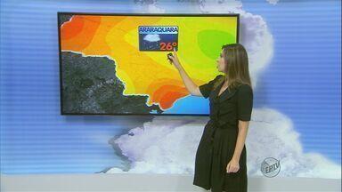 Confira a previsão do tempo para a região de São Carlos nesta terça-feira (31) - Confira a previsão do tempo para a região de São Carlos nesta terça-feira (31)