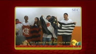 Torcedores soltam a voz e fazem versões para samba do Cafezinho com Escobar - Vasco, Botafogo, Flamengo e Fluminense são os destaques nos vídeos.