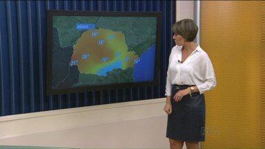 Confira a previsão do tempo para quarta-feira (1º) - Abril começa com tempo seco em quase todo Paraná. Apenas no leste pode chover de forma isolada, por causa da umidade que vem do mar.