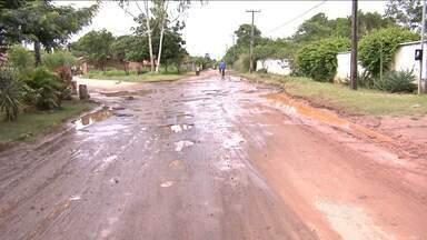 Chuva provoca estragos em bairros de Caxias - Uma mulher morreu num acidente de trânsito na BR-316.