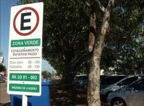 Novas áreas do estacionamento rotativo de Palmas entra em vigor nesta quarta-feira (01) - Novas áreas do estacionamento rotativo de Palmas entra em vigor nesta quarta-feira (01)
