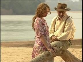 Luana conta para Bruno que está grávida - O Rei do Gado fica emocionado e diz que não deixará Luana sair de perto dele