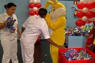 Moradores do Alto Tietê fazem ações para arrecadar chocolates para crianças carentes - Em Mogi, ação começou pela internet.