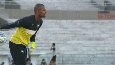 JPB2JP: Botafogos do Rio e da Paraíba treinam para jogo da Copa do Brasil - Partida nesta quarta-feira no Estádio Almeidão.