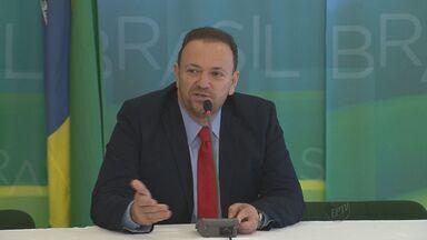 Edinho Silva toma posse no cargo de ministro-chefe da Comunicação - A solenidade aconteceu nesta terça-feira (31) no Palácio do Planalto.