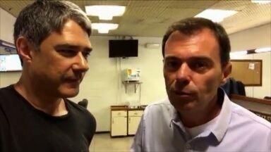 """#Globo50: """"Fui o primeiro do mundo"""", conta Tino Marcos - A Globo está completando 50 anos. E o jornalismo da Globo também. Hora de comemorar. Reunir pessoas pra lembrar, juntas, trabalhos marcantes."""