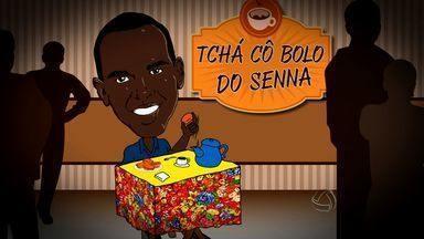 """Quadro """"Tchá cô bolo do Senna"""" vai as ruas para comemorar aniversário de Cuiabá - Figuras importantes do futebol mato-grossense e população cuiabana falam sobre a cidade"""