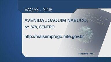 Confira as vagas do Sine para esta quinta (9), em Manaus - Só para vendedor são 20 vagas.
