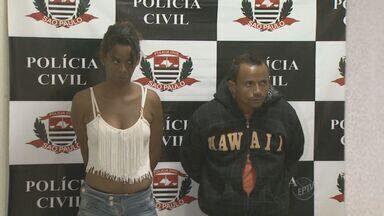 Polícia Civil prende suspeitos de sequestro relâmpago em Campinas - A Polícia Civil prendeu na quarta-feira (8), duas pessoas suspeitas de um sequestro relâmpago. A vítima é uma empresária de Indaiatuba (SP). Ela ficou cerca de 8h com os criminosos, o cativeiro foi encontrado em Campinas.