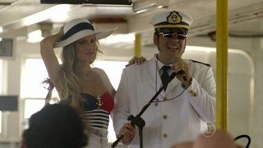 Chapa Quente - Episódio do dia 09/04/2015, na íntegra - Marlene e Genésio acabam em cruzeiro diferente