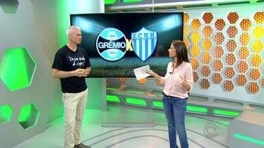 Maurício Saraiva analisa Grêmio em vitória contra Novo Haburgo - Assista ao vídeo.