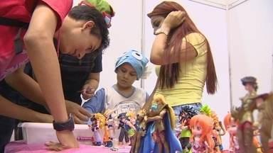 Anime Jungle Party é realizado em Manaus - Evento reúne pessoas de todas as idades; atividades começaram nesta sexta-feira.