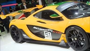McLaren cria versão do hibrido P1 para pistas - Serão produzidas apenas 35 unidades. Os compradores serão aqueles que já tem o carro de rua podem pagar cerca de R$ 9 milhões.