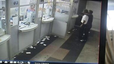 Bandido assalta lotérica na Rodoviária do Plano Piloto - Segundo a proprietária, foi o quarto roubo em menos de um ano. Quando um funcionário fechava a lotérica, foi abordado pelo bandido. A ação durou 1min10.