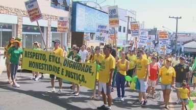 Confira como foram as manifestações em São João da Boa Vista e Pirassununga - Confira como foram as manifestações em São João da Boa Vista e Pirassununga
