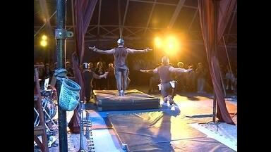Começou a programação do SESC Circo - O público pode conferir as atrações até sexta-feira. A entrada é gratuita.