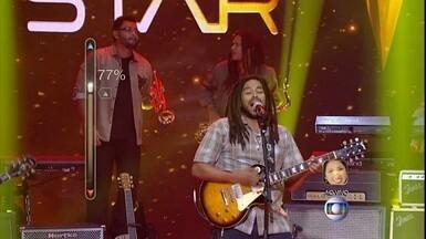 Banda Vibrações é a segunda melhor votada no Superstar, da Rede Globo - O grupo alagoano se apresentou com uma música de Tim Maia, ao ritmo do reggae e arrancou elogios dos jurados.