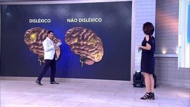 Dr. Fernando Gomes Pinto explica como funciona o cérebro de um disléxico - O médico ressalta que a dislexia não está relacionada à inteligência