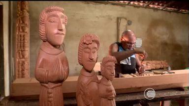 Artesãos piauienses transformam raízes e troncos de árvores em arte no Piauí - Artesãos piauienses transformam raízes e troncos de árvores em arte no Piauí