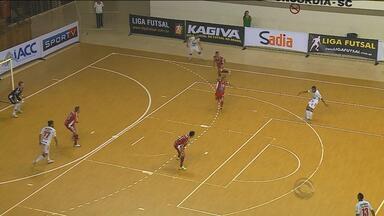 Série Ouro de Futsal começou no final de semana - ACBF jogou em casa e goleou o Atlântico de Erechim, com placar de 4 x 1.