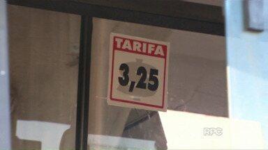 Tarifa de ônibus sobe para R$ 3,25 - Foi o segundo aumento em quatro meses. O reajuste atende determinação da justiça.