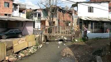Depois de 9 anos, obras de reurbanização de Paraisópolis ainda não saíram do papel - Entre as promessas estão a canalização de um córrego e a construção de moradias.
