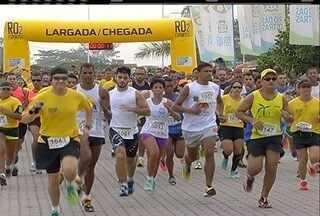 Circuito de Corrida de Rua agitou o domingo em Rio das Ostras, no RJ - Atletas amadores e profissionais participaram da competição.