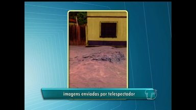 Telespectador da TV Tapajós envia vídeo mostrando problemas de infraestrutura em Óbidos - Chuva que caiu no fim de semana agravou a situação dos moradores da Rua Antônio Fernandes, no bairro de Fátima.