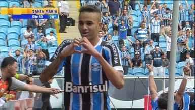 Futebol: Grêmio vence Juventude na Arena e se classifica para final do Gauchão - Tricolor venceu por 2 a 1. Confira os melhores momentos da partida.