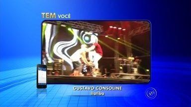 Cantor adolescente MC Gui cai no palco durante show em Itatiba - O cantor de funk ostentanção MC Gui, de 16 anos, sofreu um acidente enquanto se apresentava com seus dançarinos na cidade de Itatiba (SP) na noite deste domingo (19). Ele fazia o show de encerramento da 13ª edição da Festa do Caqui e Cia. no parque Luís Latorre, uma das atrações do Circuito das Frutas Paulista.