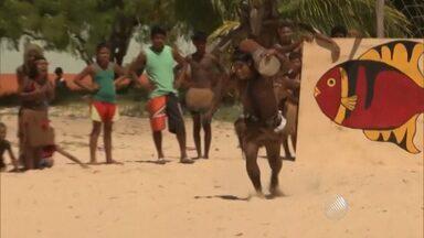 Dia do índio é comemorado com festas e competições no sul da Bahia - Veja como foram os Jogos Indígenas Pataxó.