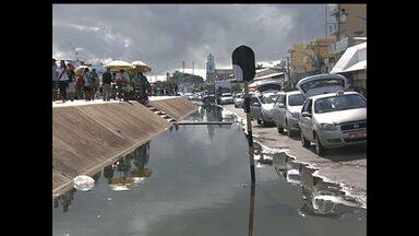 Em Santarém, nível do Rio Tapajós ultrapassa cota de alerta - Neste domingo (19), nível chegou a 7,34, segundo a Marinha.