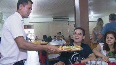 Pesquisa mostra que 30% da população de Porto Velho faz refeição fora de casa - Especialistas dizem que é preciso se preparar para atender e satisfazer os clientes.