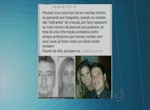 Boatos em redes sociais prejudicam mulher no Mato Grosso - Internautas de Caruaru chegaram a afirmar que encontraram o casal que aparece na foto em um shopping da cidade.