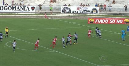 Botafogo-PB se prevalece no final e vence o Auto Esporte - Botafogo venceu por 4 a 2 o Auto Esporte. Jogo foi bastante equilibrado.