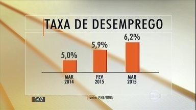 Taxa de desemprego no Brasil registra a terceira alta seguida - Índice atingiu o maior nível dos últimos quatro anos.