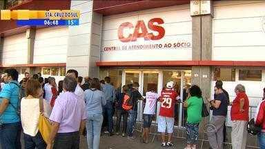 Futebol: 26 mil ingressos já foram vendidos para o Gre-Nal de domingo (3) - Entradas para arquibancada superior já estão esgotadas.
