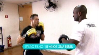 Conheça a história de superação de um ex-alcoólatra - Paulo conseguiu vencer o alcoolismo após dois anos mergulhado na doença. A doença não tem cura. Segundo pesquisa, 20 milhões de brasileiros sofrem com o alcoolismo.