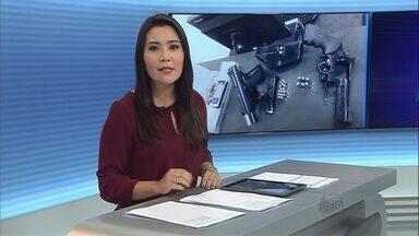 Suspeitos de furtos são presos em Sertãozinho, SP - Na casa deles foram encontradas duas armas de fogo.